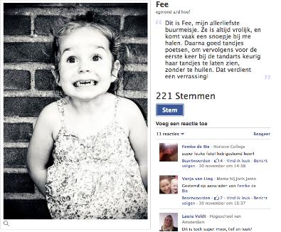 Facebook Say Cheese fotowedstrijd