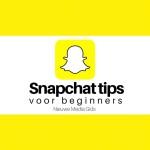 snapchat tips voor beginners