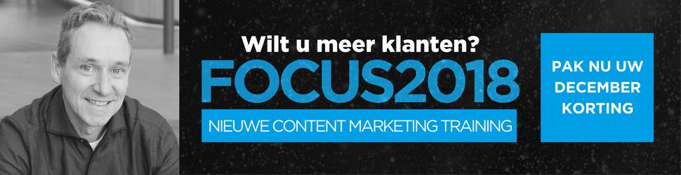 Content Marketing Workshop 2018